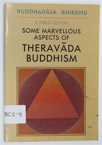 Some marvellous aspects of theravada buddhism 1991 Small.JPG